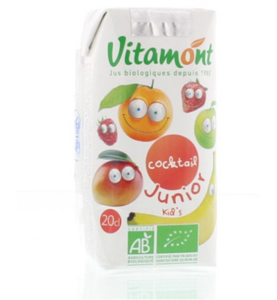 Fruit cocktail junior pak bio