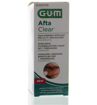 Gum aftaclear rinse