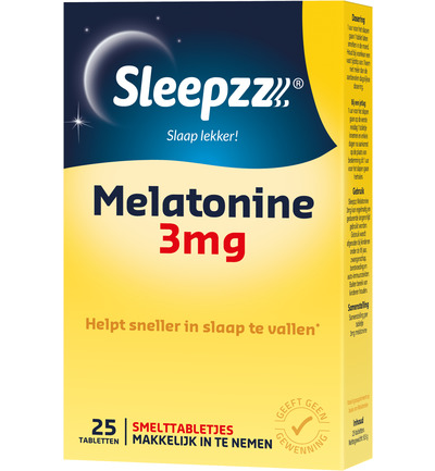 Melatonine extra forte 3 mg smelt