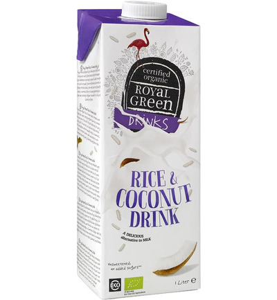 Rice & coconut drink