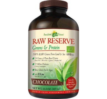 Raw reserve protein chocolate
