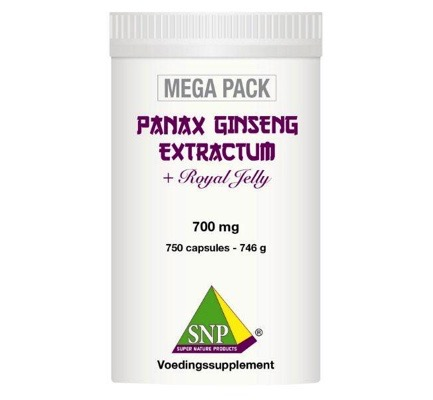 Panax ginseng extract megapack