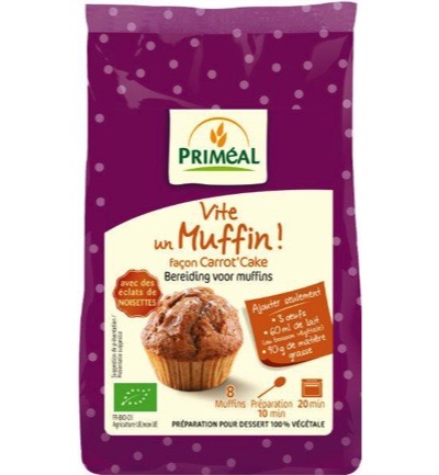 Muffin carrot cake mix