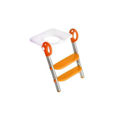 Toily 2 in 1 wit / oranje