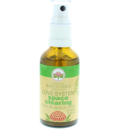 Space clearing spray mist