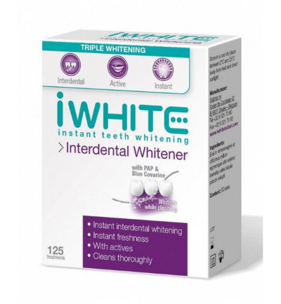 Interdental whitener