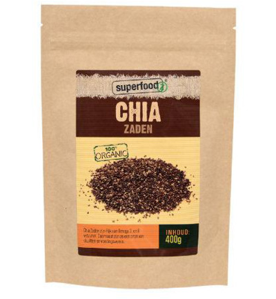 Superfoodz Chia Zaden Bio Raw(400g )
