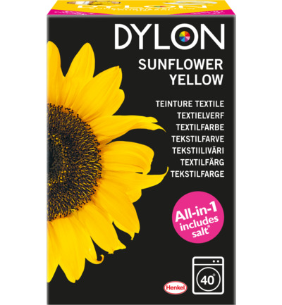Dye sunflower yellow 05