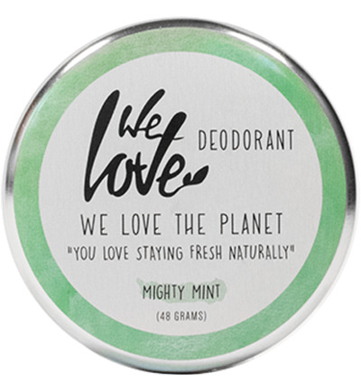 The Planet cremedeodorant Minty Mint