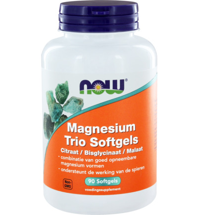 Magnesium trio softgels