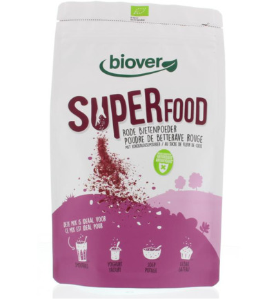Superfood rode bieten poeder