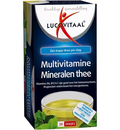 Multivitaminen en mineralen thee
