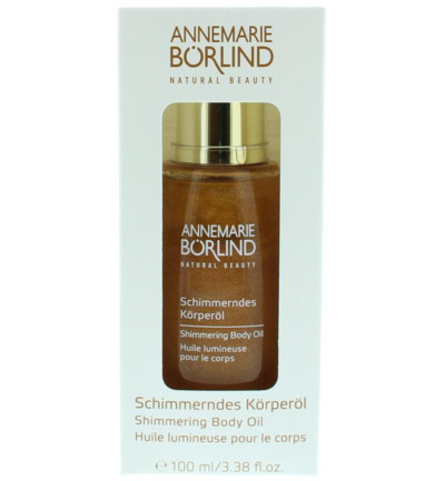 Schimmering body oil