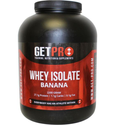 Whey isolaat banana