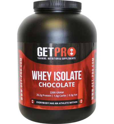 Whey isolaat chocolate