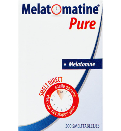 Melatomatine pure melatonine 0,1 mg