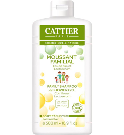 Cattier-Paris Schuimende Doucheshampoo 500 ml