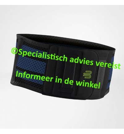 back support xl zwart