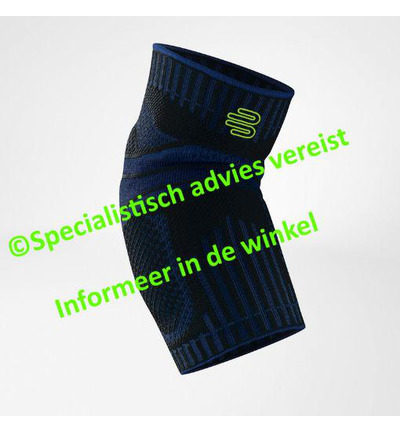 elbow support m zwart