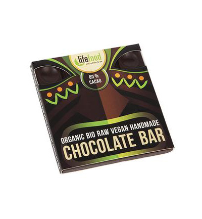 Raw chocolate 80% cacao bio