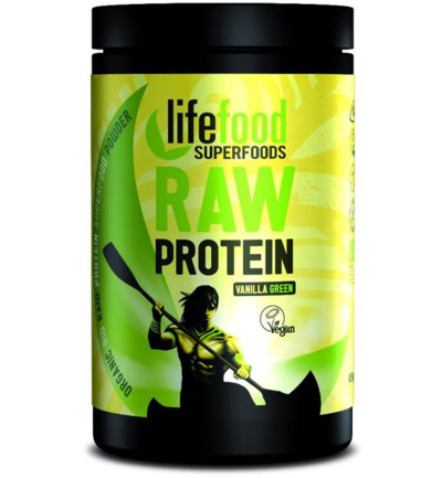 Raw superfood proteinepoeder green vanilla