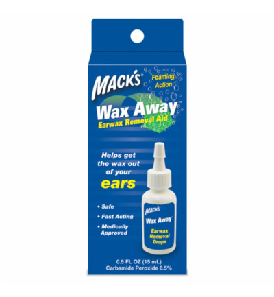 Wax away earwax removal aid