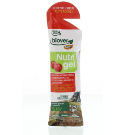 Nutrigel rode vruchten