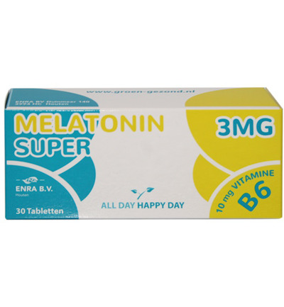 Melatonine super 3 mg