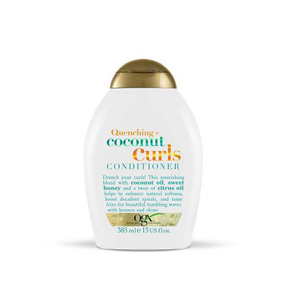 Quenching coconut curls conditioner
