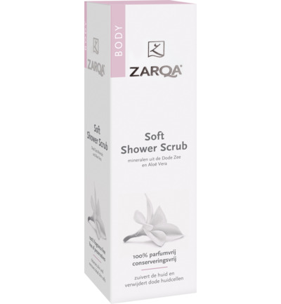 Shower scrub soft SLES vrij
