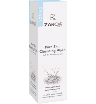 Pure skin cleansing wash SLES vrij