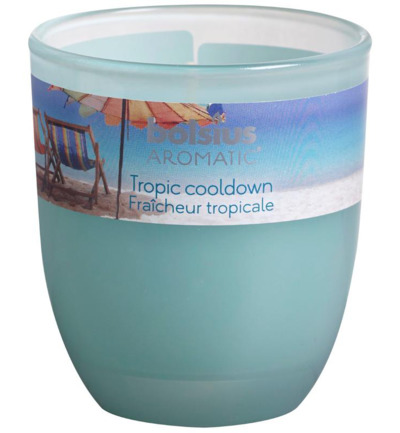 Geurglas ovaal limited tropic cooldown