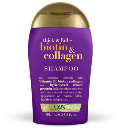 Shampoo thick and full collagen