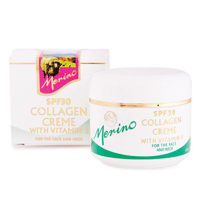 Collagen creme with vitamine E