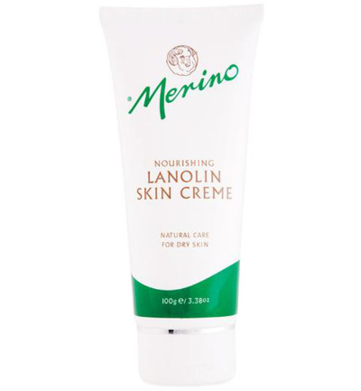 Lanolin skin cream tube
