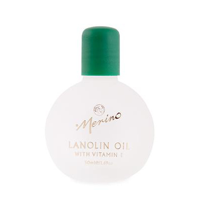 Lanolin skin oil met vitamine E