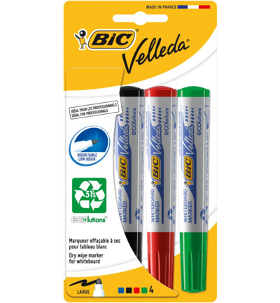 Velleda whiteboard marker assorti