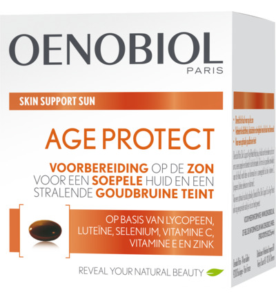 Skin support sun age protect