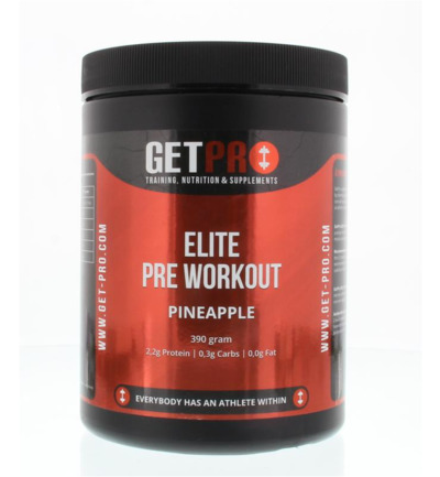 Elite pre workout pineapple