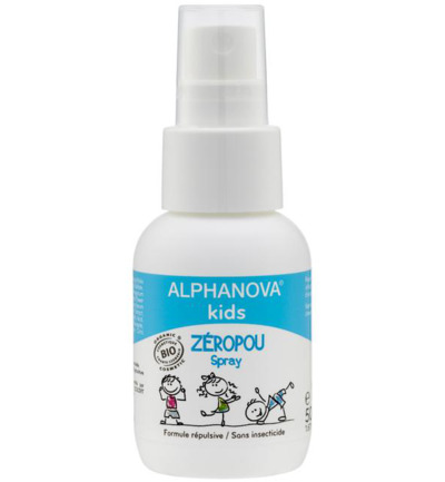 Kids zeropou spray