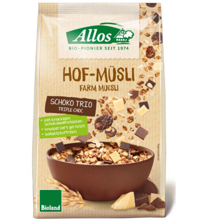 Hof-muesli triple chocolate