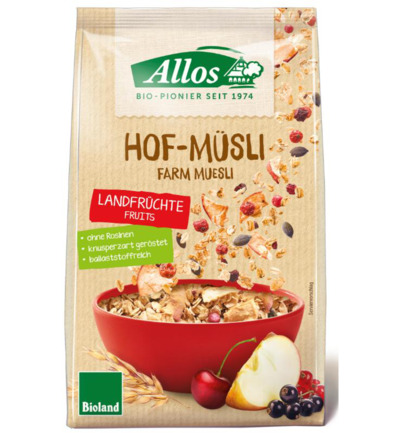 Hof-muesli country fruit