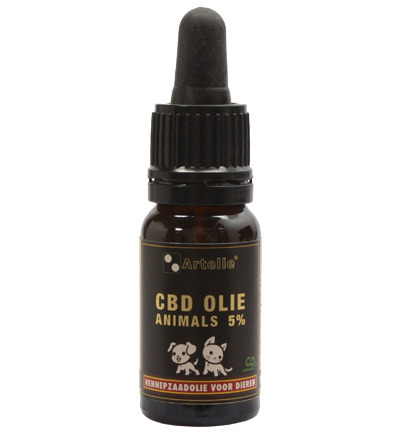 CBD olie forte 5% C02 animals