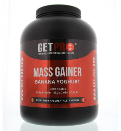 Mass gainer banana yoghurt
