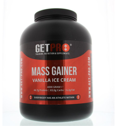 Mass gainer vanille ice creme