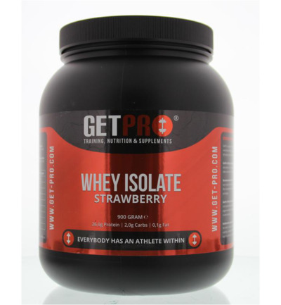 Whey isolaat strawberry