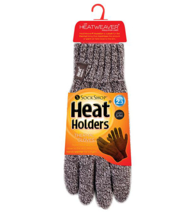 Ladies cable gloves S/M fawn
