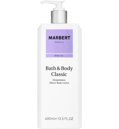Classic bath and body lotion