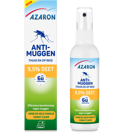 Anti muggen 9.5% deet spray