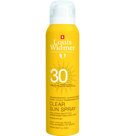 Clear Sun Spray 30 (ongeparfumeerd)